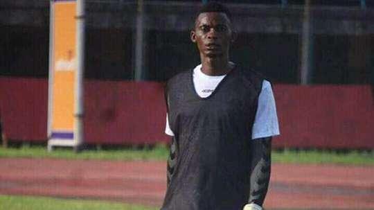 Alhaji Conteh, portero de Sierra Leona, falleció a causa de una enfermedad. Twitter/Morisjr88