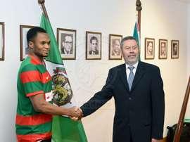 Alhassane Keita, nuevo jugador de Marítimo. Marítimo