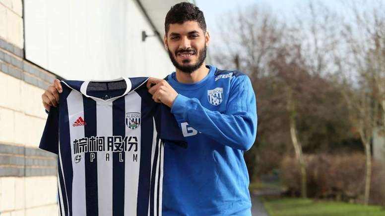 Gabr will play at The Hawthorns until the end of the season. WestBrom