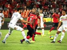 Alianza Petrolera e Independiente Medellín empataron por 1-1. Twitter