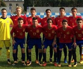 España Sub 17 se complica los cuartos de final. SeFutbol