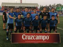 Uruguay derrotó a Marruecos. Twitter/Uruguay