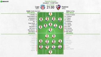 Sigue el directo del Lugo-SD Huesca