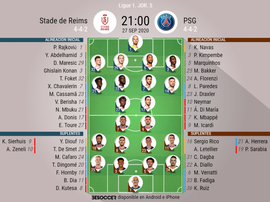 Onces confirmados del Reims-PSG. BeSoccer