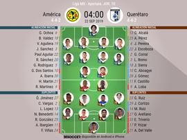 Gio, titular en el América; Loba, referencia en Querétaro. BeSoccer