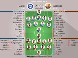 Alavés-Barcelona, en Mendizorroza. BeSoccer