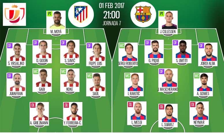 Atletico Madrid Vs Barcelona Live Besoccer