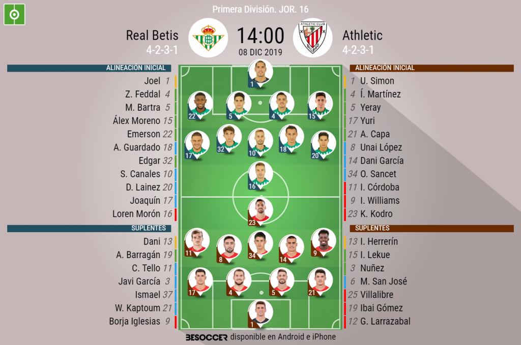Diego Lainez fue ovacionado por la afición del Real Betis