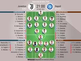 Sigue el directo de la Supercoppa de Italia. BeSoccer