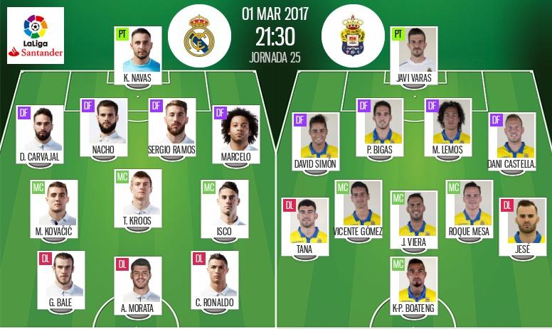 Real Madrid Vs Las Palmas As It Happened Besoccer