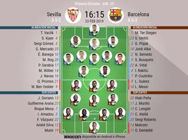 Sevilla-Barcelona, un duelo por todo lo alto. BeSoccer