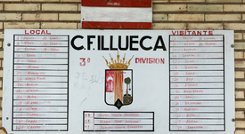 El Illueca cae ante el Teruel. Twitter/CFIllueca