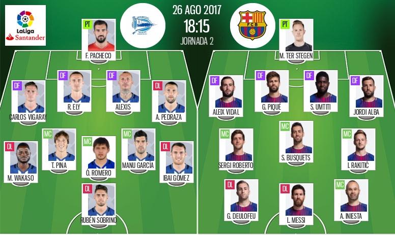 LIVE: Alavés vs Barcelona - BeSoccer