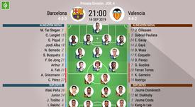 Barcelona-Valencia, un intenso cara a cara. BeSoccer