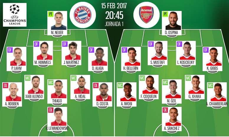 Fc Bayern München Vs Arsenal