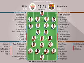 Elche-Barça, en directo. BeSoccer