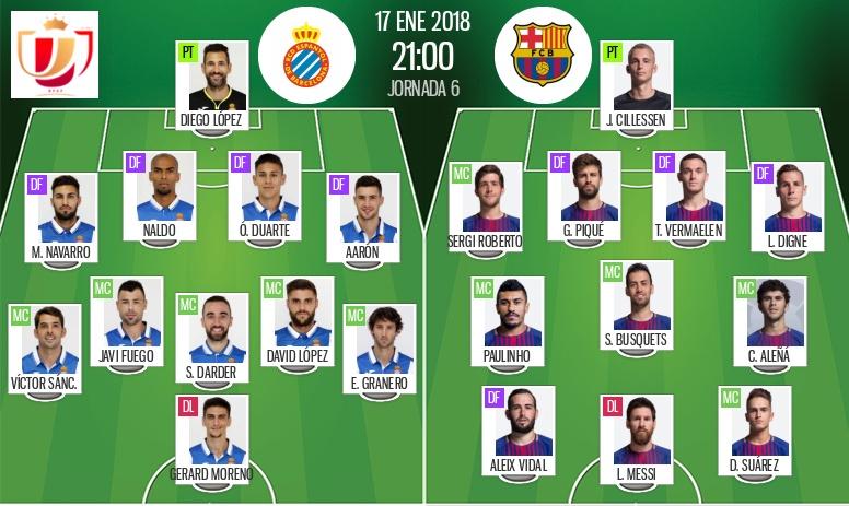Le Barça chute face à l'Espanyol — Esp. (Cpe)