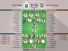 Onces confirmados. BeSoccer