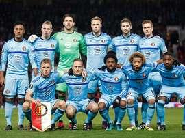Ainda não foi esta semana que o Feyenoord quebrou o jejum que dura desde 1999. Twitter