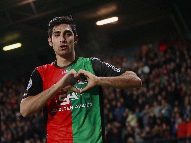 El talento de Jahanbakhsh ha acaparado la atención en Italia. Twitter/NACBreda