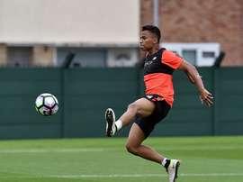 Allan Rodrigues es un volante ofensivo de 19 años. LiverpoolFC