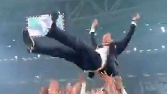 Celebración por todo lo alto. Captura/JuventusFC