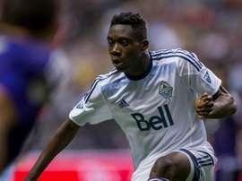 Alphonso Davies tem apenas 16 anos, mas já é titular nos Vancouver Whitecaps da MLS. Facebook