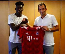 Davies has officially joined the German champions. FCBayern