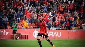 Álvaro Bustos jugará en el Rayo Majadahonda hasta final de temporada. Twitter/RMajadahonda