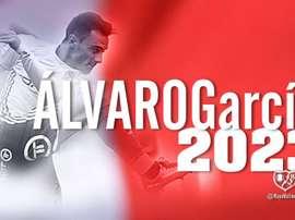 Álvaro García, nuevo jugador del Rayo. Twitter/RayoVallecano