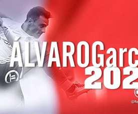 Álvaro García, nouveau joueur du Rayo. Twitter/RayoVallecano