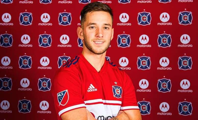 Álvaro Medrán jugará en la MLS. ChicagoFire