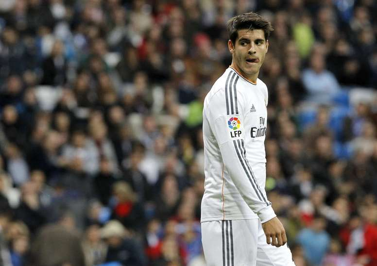 Morata revela conselhos de Mourinho. EFE