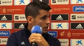 Morata profetizó que el Atlético dejaría sin final de Champions al Liverpool. Captura/ElPartidazo