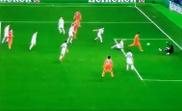Morata segna la prima rete. MovistarLigadeCampeones