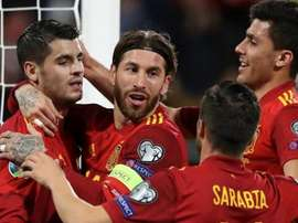 Espanha brilha em campo. Twitter/SeFutbol