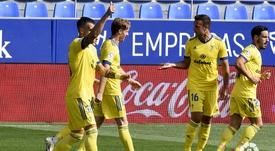Negredo valoró el triunfo del Cádiz. EFE
