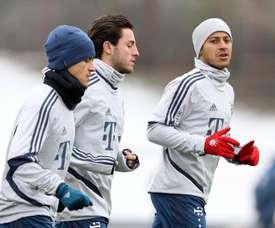 Já se fala na volta de Odriozola ao Real Madrid. Twitter/FCBayern