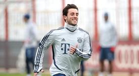 Odriozola, à peine arrivé au Bayern, déjà parti ? Twitter/FCBayern