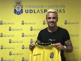 El jugador llega procedente del CF Internacional de Madrid. UDLasPalmas
