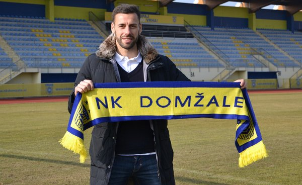 Álvaro Rodríguez Brachi ya es jugador del NK Domzale. Twitter