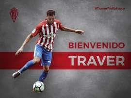El ex del Atlético Levante ya es rojiblanco. RealSporting