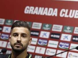 Vadillo, duda ante el Sporting. GranadaCF