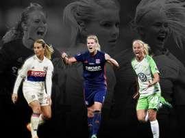 Les trois joueuses sont nominées. UEFA