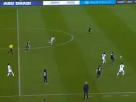 Al Jazira a pris les devants au score. Capture/La1