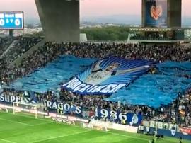 Une belle ambiance. FCPorto