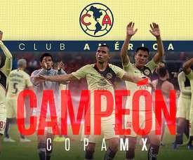 América se convirtió en campeón de la Copa MX. BeSoccer