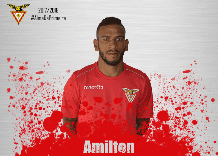 O brasileiro de 27 anos vai voltar à primeira liga, onde jogou pelo União da Madeira. Desp.Aves