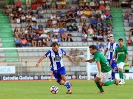 El Racing de Ferrol estrena nuevo técnico ante el Coruxo. RCDeportivo