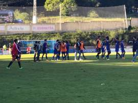 La plantilla del Amorebieta contará con el regreso del centrocampista Zarrabeitia. SDAmorebieta